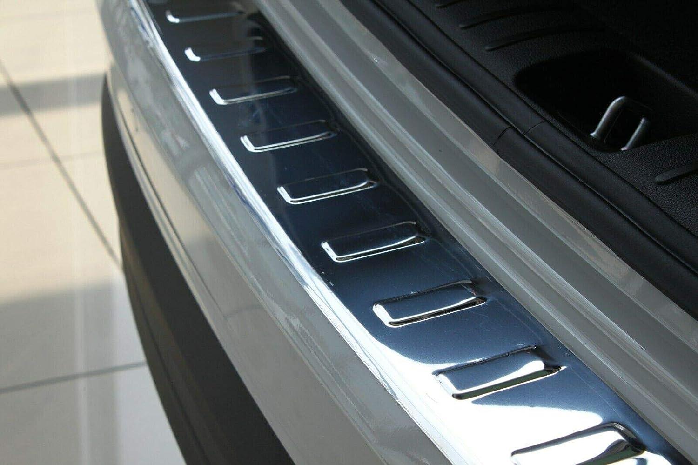 TUCSON FACELIFT modelos a partir de 2018 Protector de parachoques trasero de acero inoxidable cromado