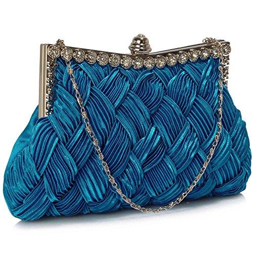 TrendStar - Cartera de mano para mujer azul X - Royal Blue