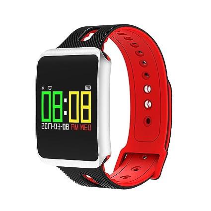 NICERIO IP68 Agua Densidad Fitness Tracker, Bluetooth 4,0 OLED pantalla táctil Smartwatch Pulsómetro