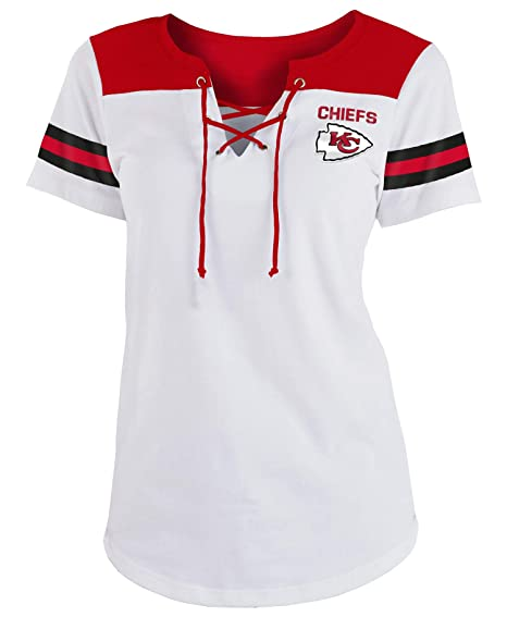 huge selection of de8f4 9dcb7 Amazon.com : New Era Kansas City Chiefs Women's Sleeve ...