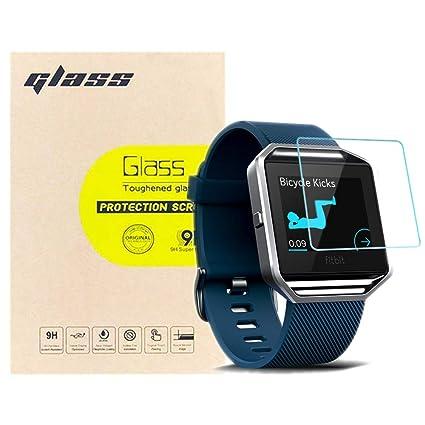 Amazon.com: LUPAPA - Protector de pantalla para Fitbit Blaze ...