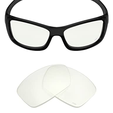 Mryok+ Polarized Replacement Lenses for Oakley Hijinx - HD Clear
