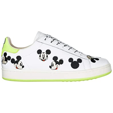 Moa Master of Arts Disney Mickey Mouse Zapatillas Deportivas Mujer White/Green 37 EU: Amazon.es: Zapatos y complementos