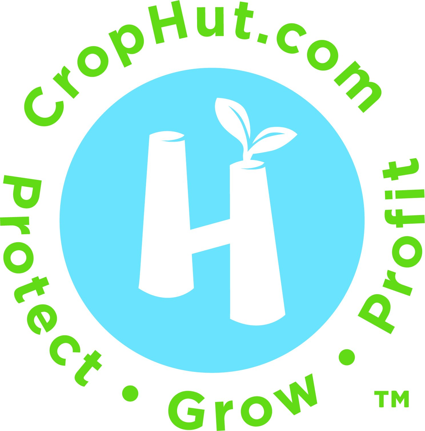CropHut Reusable Plant Protector with Venting Frost Guard Season Extender Growth Accelerator Seedlings Clones Cuttings Gardens Trees - Love it Pack - 50 Count