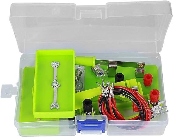 Sntieecr circuit électrique Moteur Kit expérience scientifique éducatif Montessori
