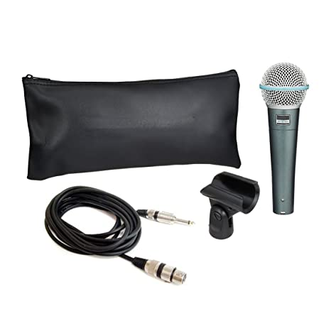 Sound King Beta 58A Dynamic Vocal Karaoke Microphone With 3.5mm Dynamic at amazon