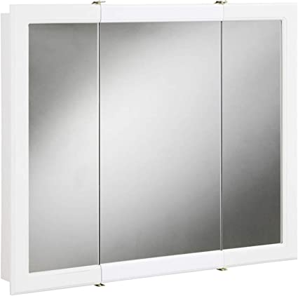 Amazon Com Design House 531459 Concord Mirrored Medicine Cabinet White 48 W X 30 H Home Improvement