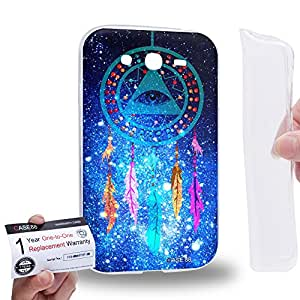 Case88 [Samsung Galaxy Grand Duos i9082 i9080] Gel TPU Carcasa/Funda & Tarjeta de garantía - Art Eye Of Divine Providence Dreamcatcher