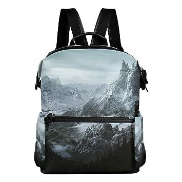 Amazon.com: Skyrim - Mochila de viaje, diseño informal ...
