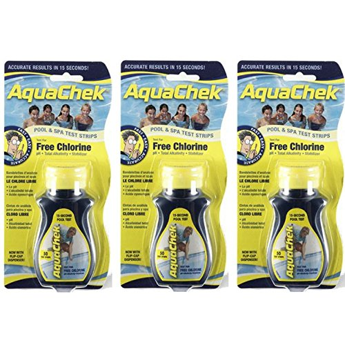 AquaChek Yellow Chlorine Test Strips