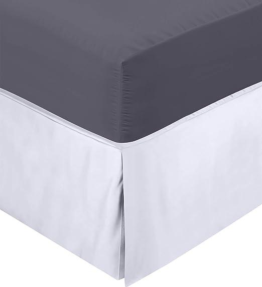 Utopia Bedding Cubre Canapé - Plisado - Encaja Debajo del Colchón ...