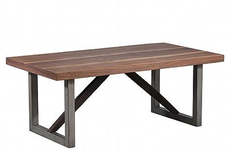 Amazon.com: Coaster Home Furnishings Coffee Table, Walnut ...