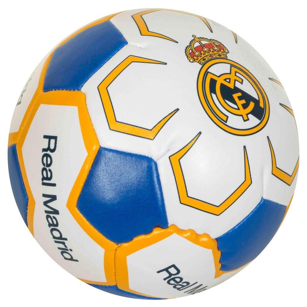 Pelota del Real Madrid suave, de 10 cm (tamaño único): Amazon.es ...