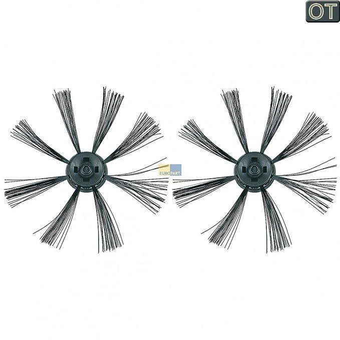 daniplus - 2 x Cepillo, cepillos para aspiradoras Dirt Devil Robot aspirador Libero - Nº: 0606001: Amazon.es: Hogar