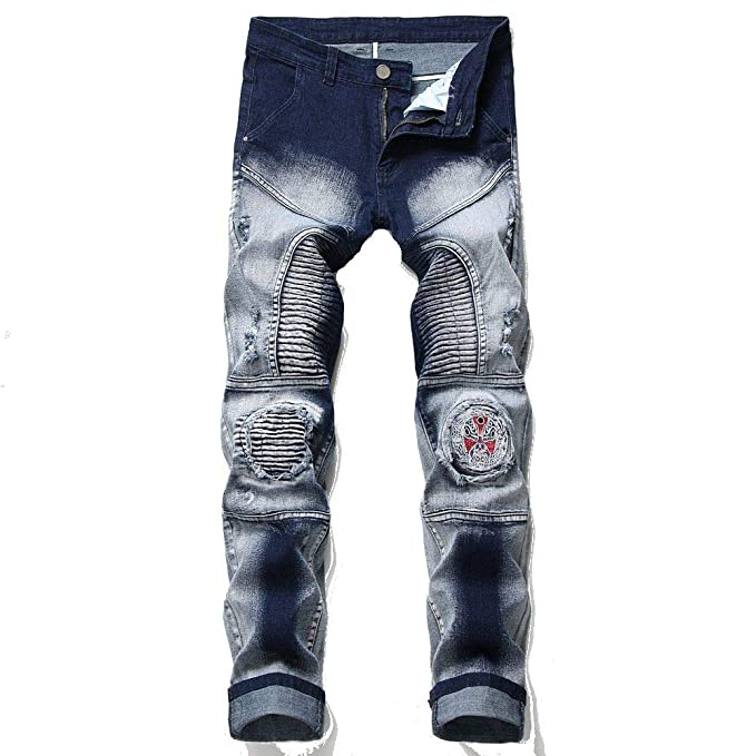 Pantalones Vaqueros Delgados para Hombre Vaqueros Hombre ...