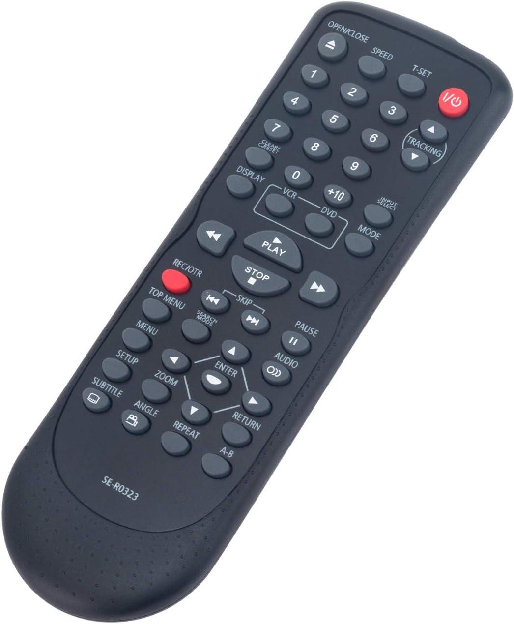 SE-R0323 SER0323 Replace Remote Control fit for Toshiba DVD Video VCR Combo Player SD-V296 SD-V296KU SD-V296KC SDV296 SDV296KU SDV296KC Cassette Recorder