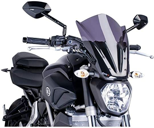 Puig 7016F Windshield for Yamaha MT-07 2014, Dark Smoke, Medium: Amazon.de: Auto