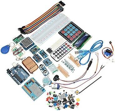 Nueva geekcreit Kit Deluxe Uno R3 Básica Starter Kit de aprendizaje para Arduino por Koko: Amazon.es: Electrónica