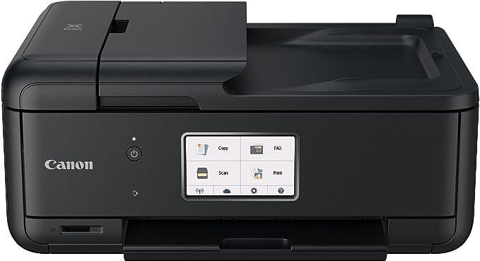 Canon Pixma TR8550 All-in-One Farbtintenstrahl-Multifunktionsgerät (Drucker, Scanner, Kopierer, Fax, USB, WLAN, LAN, Apple Ai