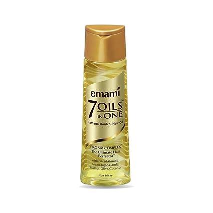 7 Aceites En Uno daños Control pelo aceite de almendra, argán, Coco, nogal, aceite de oliva, aceite de jojoba, Amla aceite de semillas