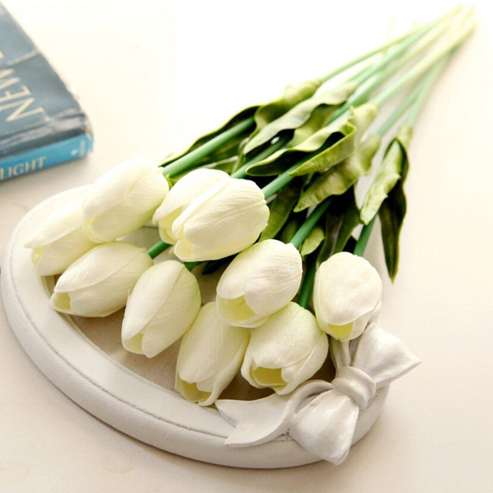 Amazon 10pcs Classic Artificial Flowers Silk Flowers Fake