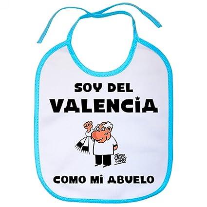 Babero soy del Valencia como mi abuelo Jorge Crespo Cano ...