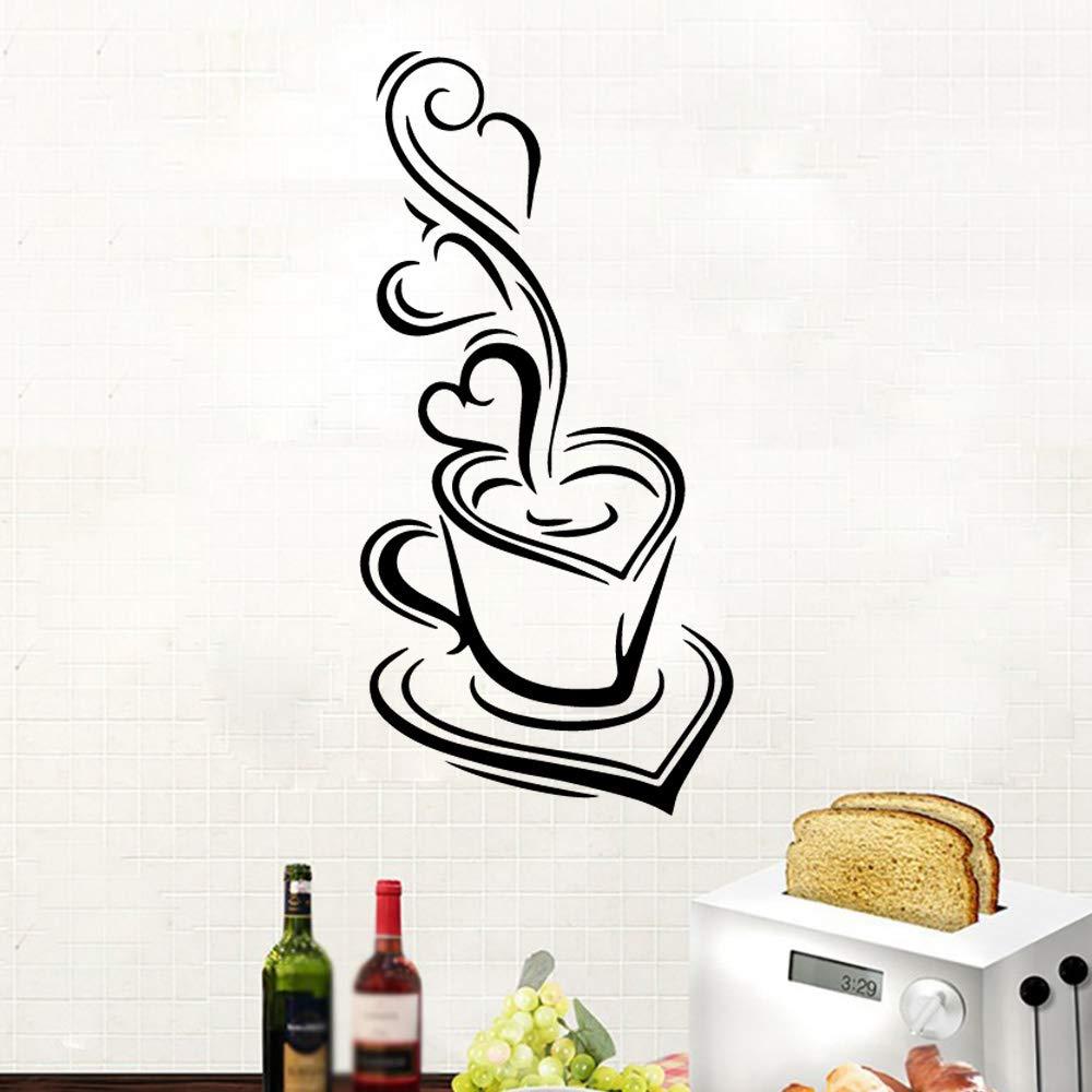 Estilo Americano Delicioso Café Casa de Café Decoración Vinilo ...