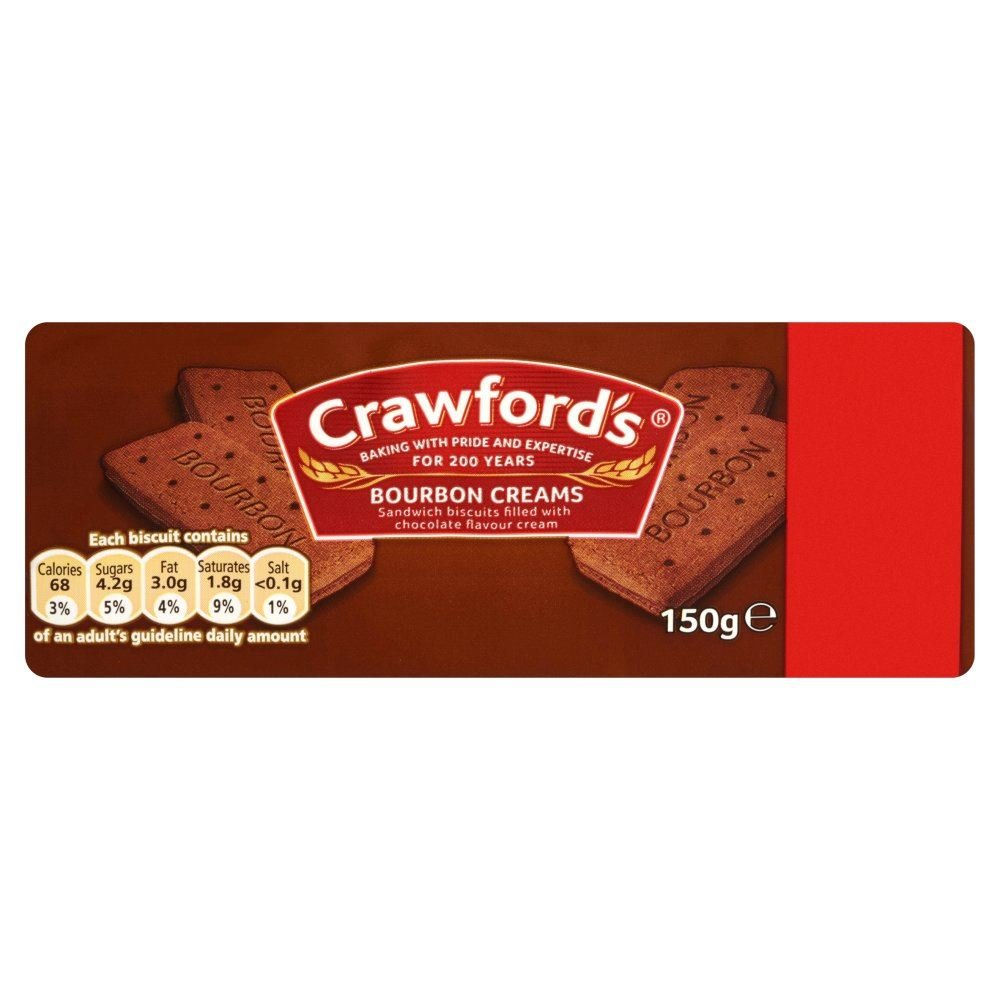 Crawford's Bourbon creams (150g) Crawfords