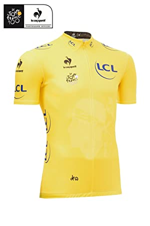 Le Coq Sportif Kids Replica Tour De France Yellow Leaders Jersey -   Amazon.co.uk  Sports   Outdoors 7e49a7e8d
