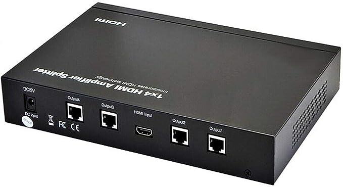 4 Way Hdmi Splitter über Ethernet Elektronik