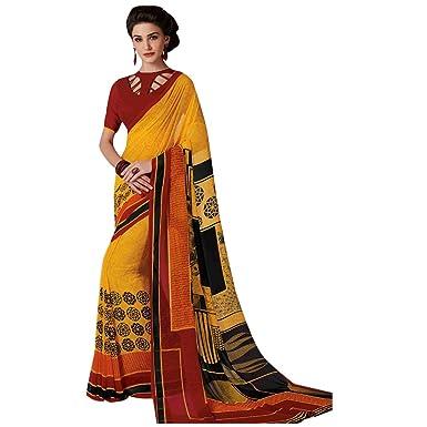 ETHNIC EMPORIUM Indio Tradicional Informal Sari Mujeres ...
