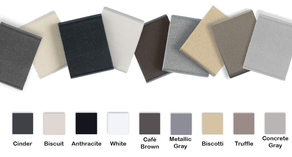 BLANCO PRECIS 522429 27 Inch Single Bowl Sink - SILGRANIT 80% Granite Undermount Kitchen Sink, White