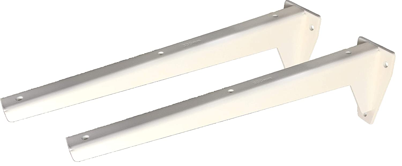 2 x 330 mm Sunload Regalbodentr/äger Schwerlasttr/äger L-Profil Konsole Stahl verzinkt