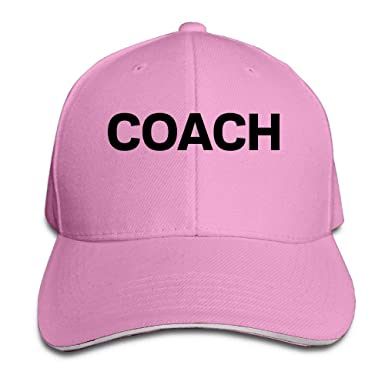 ruishandianqi Coach Cotton Adjustable Peaked Baseball Cap Adult ...