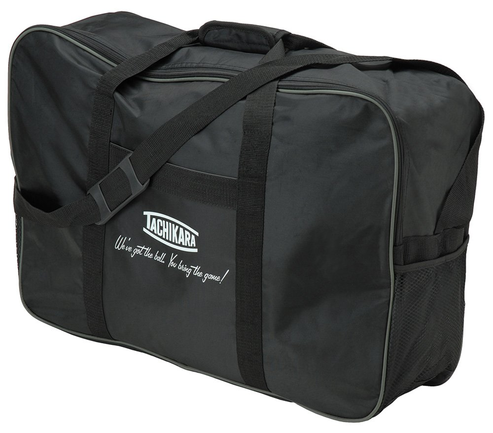 Tachikara TV6 Nylon Volleyball Carry Bag (Black)