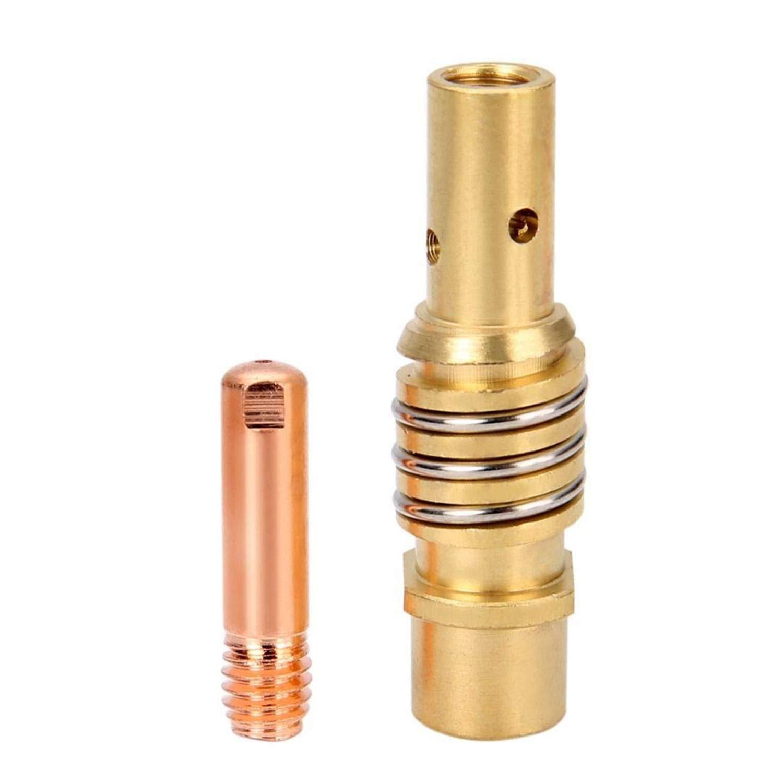 11PCS MIG Welding Welder 15AK Torch Nozzles Contact Tip for Welding Accessories