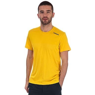 adidas - Camiseta - para Hombre Amarillo Amarillo XL: adidas ...