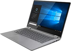 Lenovo IdeaPad Flex 6 2-in-1 Laptop, 14 inch TouchScreen, AMD Quad-core Ryzen 5 2500U, 8GB DDR4 Memory, 256GB SSD, Windows 10 Home Backlight, 8 hours, Fingerprint(Renewed)