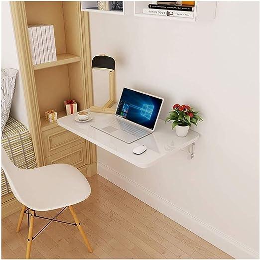 JIAHE115 Mesa portátil pequeño café Escritorio de la computadora ...