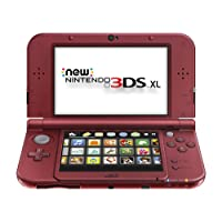 New Nintendo 3DS XL - Red (Renewed)
