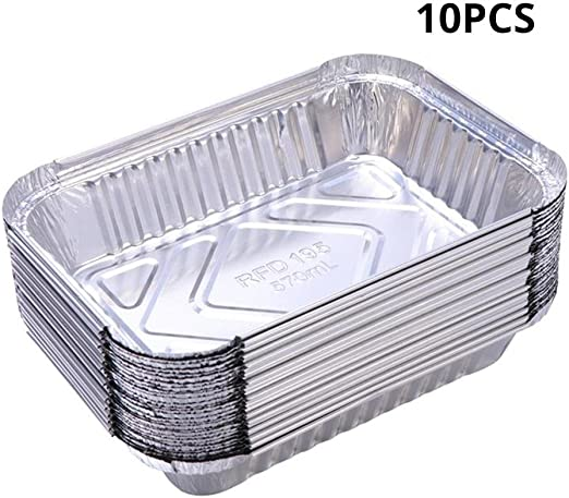 acumendate Bandejas cuadradas de Papel de Aluminio - Congeladores ...