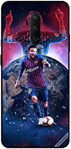 For OnePlus 7T Pro Case Cover Messi The King On Universe
