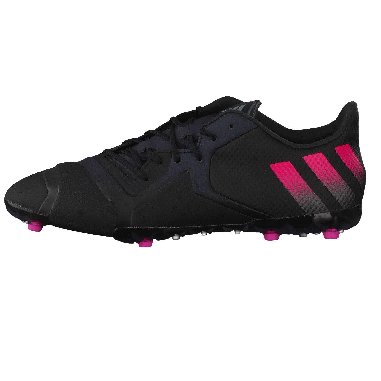 16+ Ace Tkrz Adidas, Chaussures De Football Pour Les Hommes, Multicolore (cblack / Ngtmet / Syello), 40 Eu