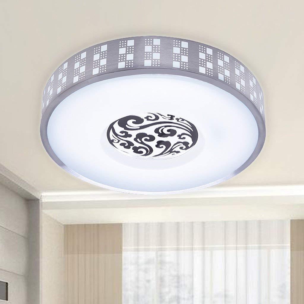 FXING LED Aluminium Schlafzimmer Esszimmer Studie Deckenleuchte A+ (Größe  Groß 26 W, 50 cm)