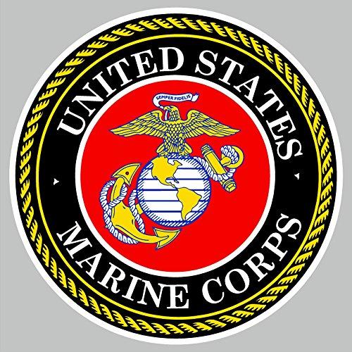 U.S. Marine Corps Car Decal Sticker