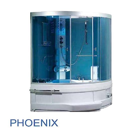 Cabina combinada ducha vapor y de hidromasaje Phonix: Amazon.es: Hogar