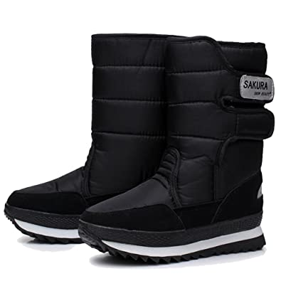 Amazoncom Legend Ec Ladies Waterproof Snow Boot Anti Slip Cold