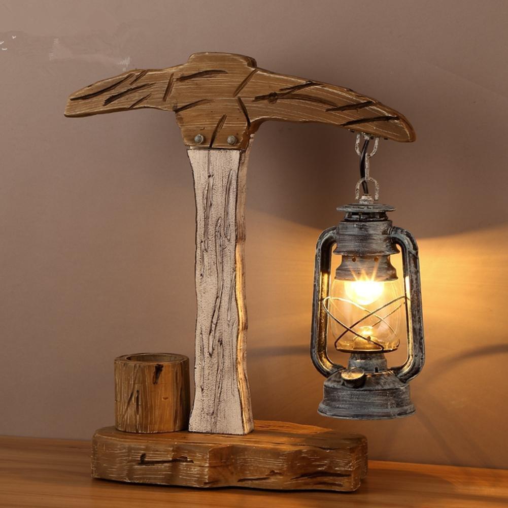 Wsnd Industrielle Dekorativen Stil Tisch Lampe Schlafzimmer Lampe