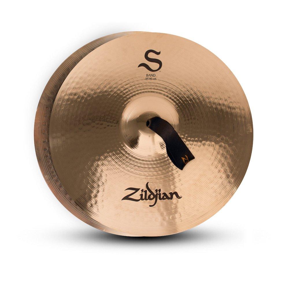 """Zildjian 18"""" S Band Cymbal Pair Avedis Zildjian Company S18BP"""
