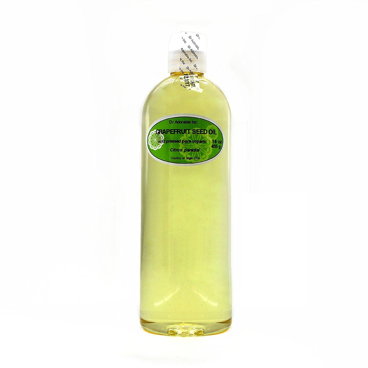 Grapefruit Seed Oil Organic Cold Pressed 100% Pure 16 Oz / 1 Pint